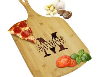 Pizza Peel, Personalized Pizza Board, Wood Pizza Paddle, Custom Pizza Peel, Pizza Lovers, Personalized Pizza Gifts