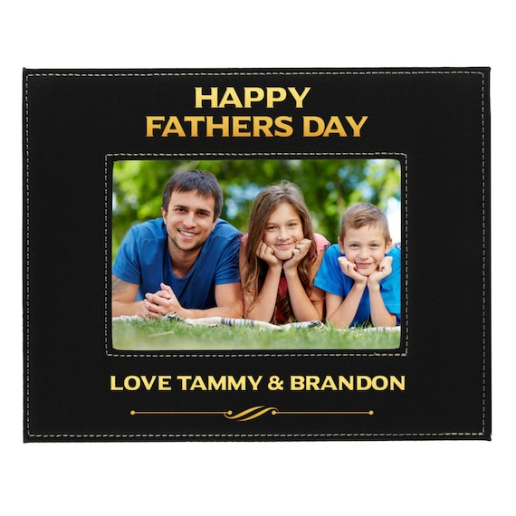 Dad Picture Frame Picture Frame For Dad Personalized Dad Etsy