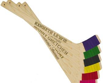 Hockey Gift, Mini Hockey Stick, Personalized Ring Bearer Gift, Gift for Ring Bearer, Engraved Hockey Stick, Personalized Mini Hockey Stick