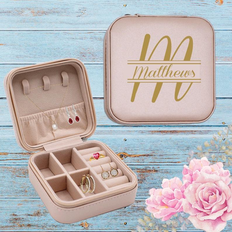 Jewellery box Mini portable jewellery box