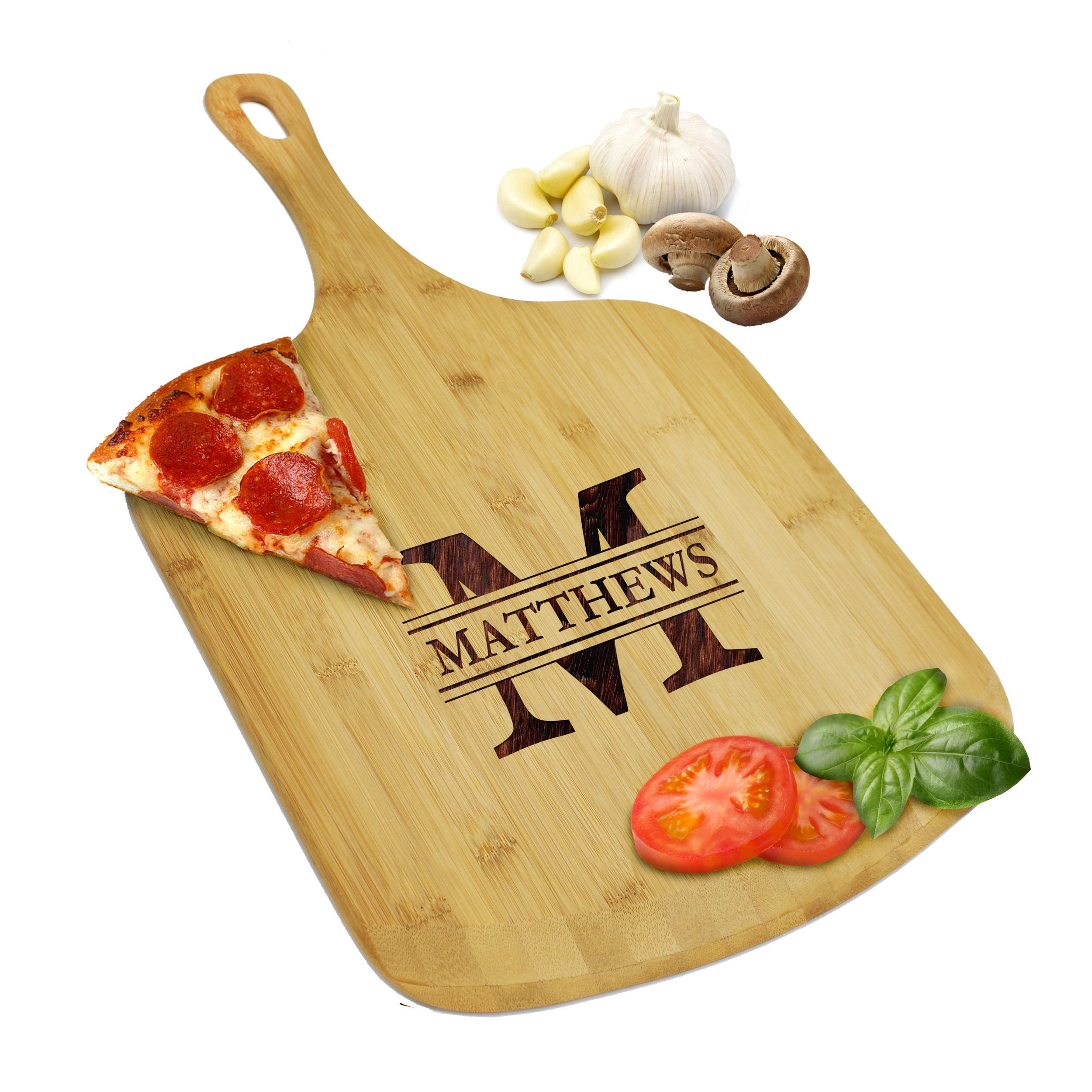 Pizza Peel Personalized Pizza Board Wood Pizza Paddle