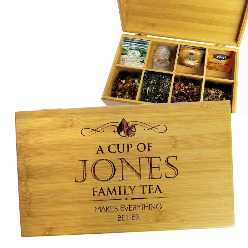 photo of Engraved Tea Chest