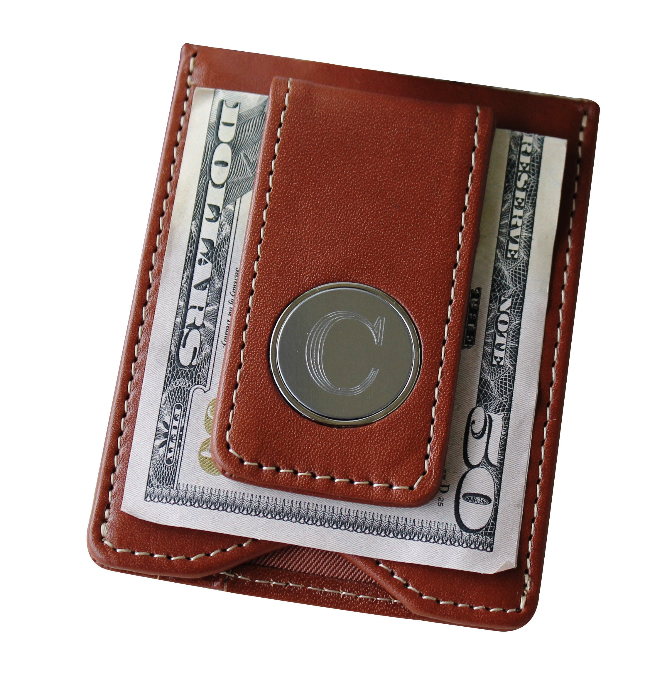 Money Clip Wallet for Men, Wallet Money Clip Men, Engraved Money Clip Wallet, Groomsmen Money Clip, Leather Money Clip and Card Holder