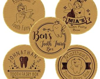 Tooth Fairy Holder, Baby Tooth Keepsake, 1st Birthday Gift, Lost Tooth, Tooth Box Organizer,  Fairy Tooth, Wooden Trinket Box, Keepsake Box