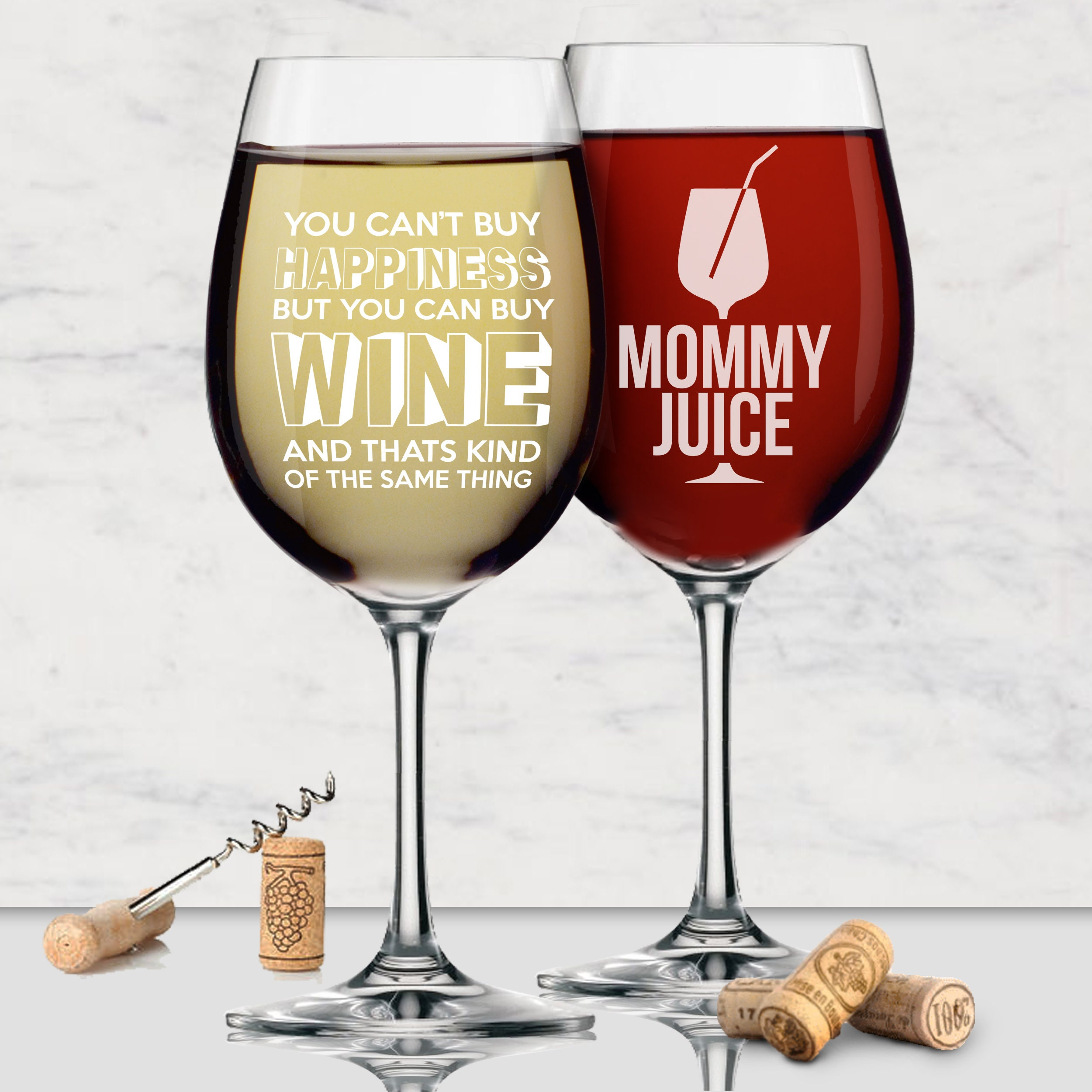 Wine Glasses With Sayings Funny Mom Gifts Mom Gifts Etsy