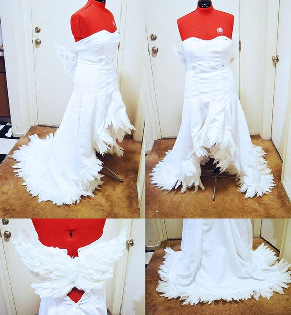 Costumewig Yuna Wedding Dress And Wig Ffx 2 Etsy