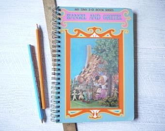 Journal - Hansel & Gretel - Handmade From Retro Storybook
