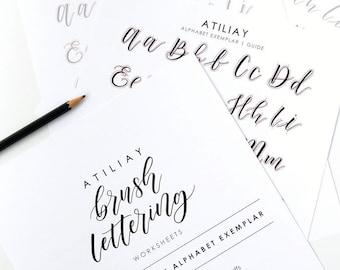 Brush lettering | Etsy