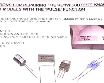 Kenwood Chef Felt For A901 and KM Series Mixers Fits under