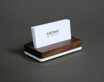Business card stand Etsy