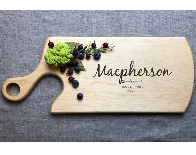 Personalized Cutting Board, Personalized Chopping Block, Personalized Kitchen Board, Custom Cutting Board, Cheese Board, Chopping Board