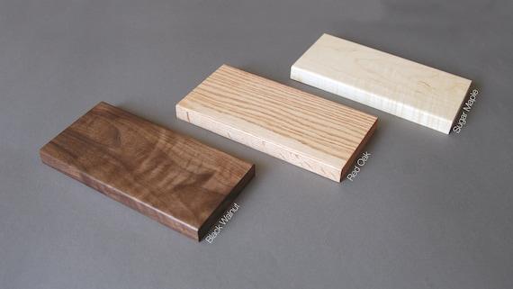 Vertikale Moo Visitenkarte Stand Visitenkarte Display Holz Kartenhalter Nussbaum Holz Einzelne Vertikale Karte Stand
