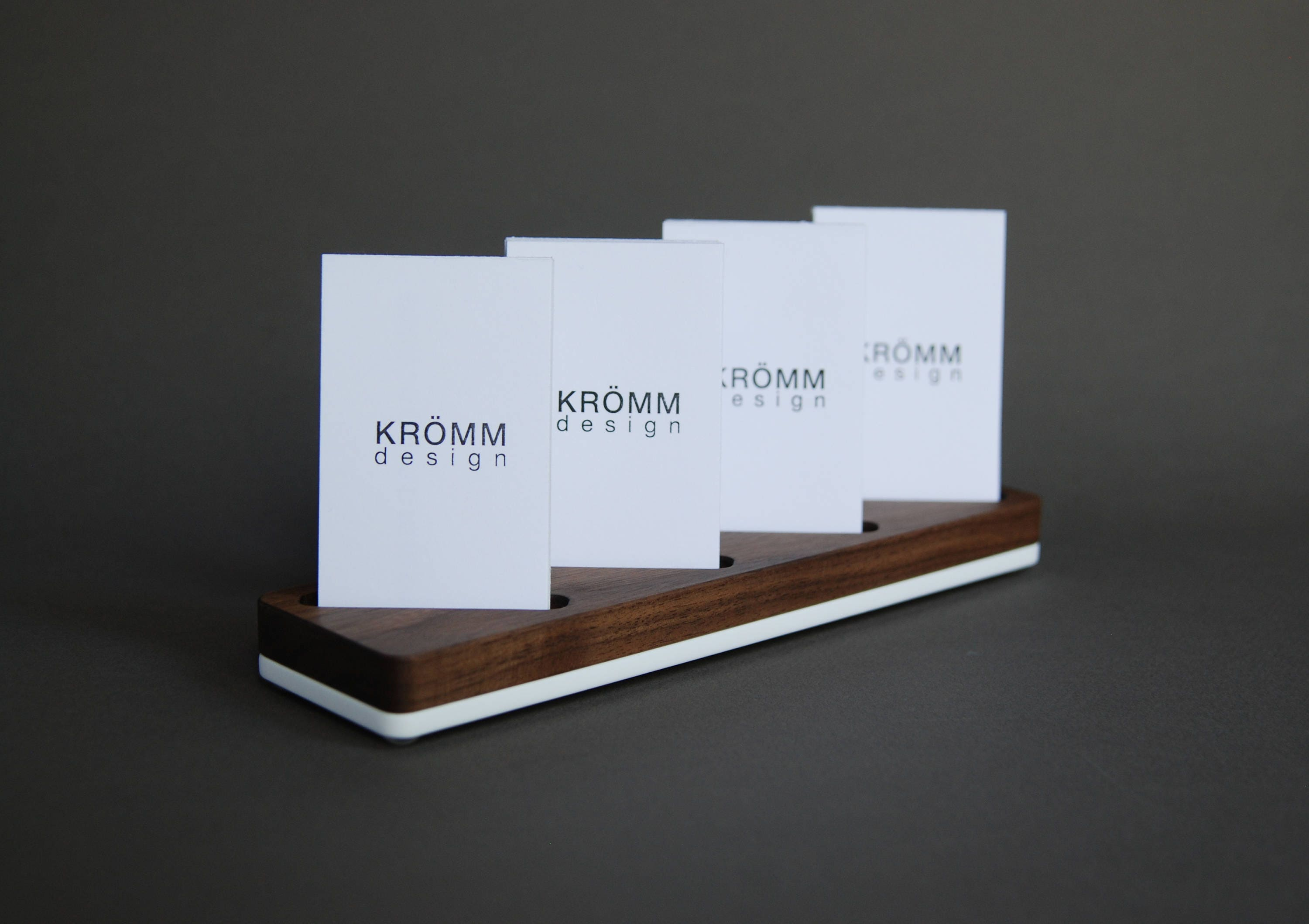 Multiple vertical business card display walnut and acrylic multiple vertical business card display walnut and acrylic vertical moo business card stand wood vertical card holder reheart Images