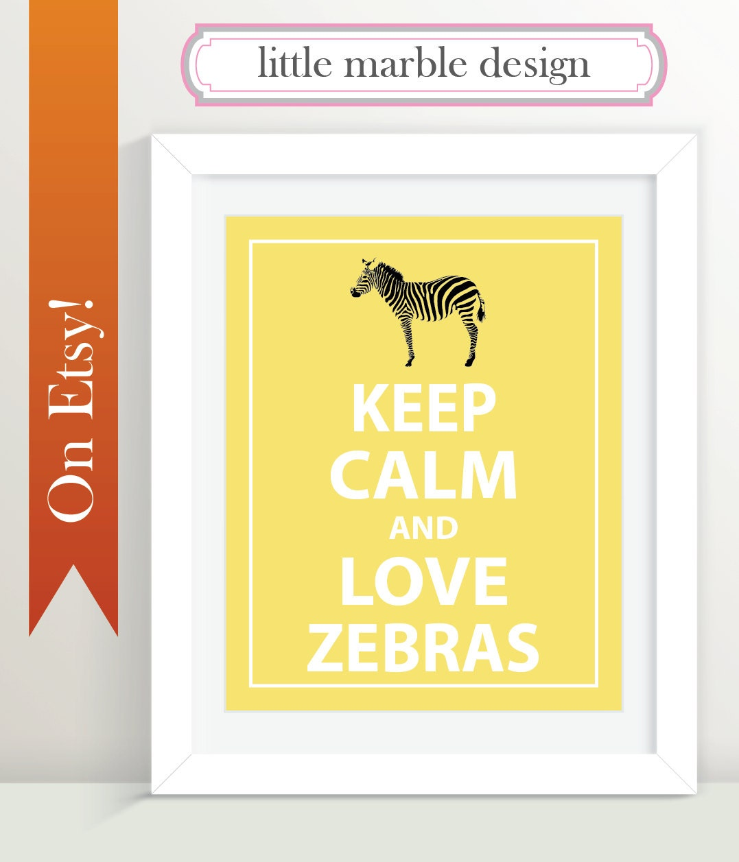 Keep Calm and Love Zebras 8x10 Print Wall Art Typography   Etsy