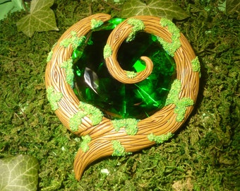 """Kokiri Emerald - handcrafted unique Prop in LIFESIZE!  - """"Made to Order"""""""