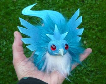 Pokémon - Articuno Fledgling OOAK Art-Doll