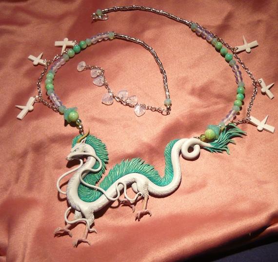 Spirited Away Haku The Dragon Collar Made To Etsy