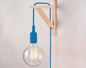 Plug in wall sconce, Wall lamps plug in, plug in sconce , Sconce, Wall lamp, wall light, wooden lamp, sconce, bracket lamp, Nordic lamp