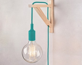 Plug in wall sconce, Plug in wall lamps, plug in wall light, Wall sconce, plug in wall lamp, plug in wall light, wood lamp, Nordic lamp
