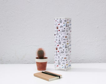 Table Lamp 35 x 9 cm Barcelona Print collection.