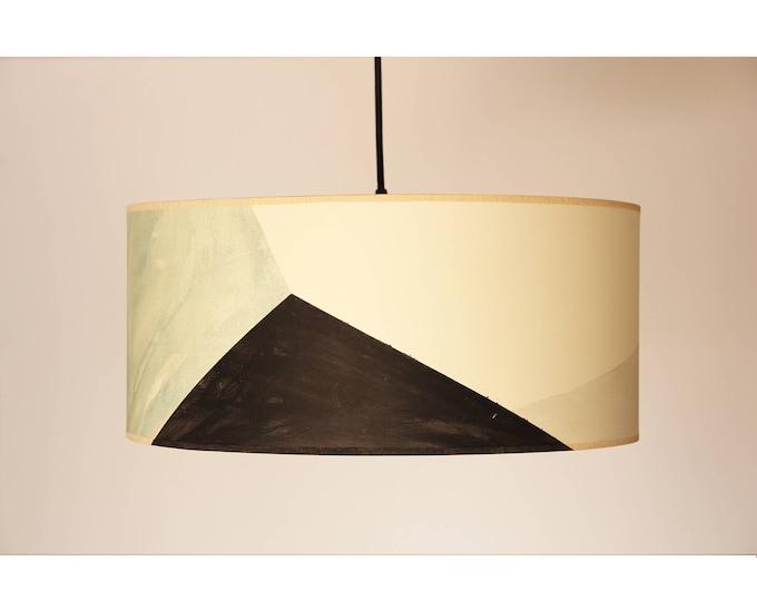 Hanging lamp MAUD,  pendant lamp, pendant lampshade, lamp geometric shapes, big lamp, handmade lamp, elegant lamp, minimal big lamp, lamp