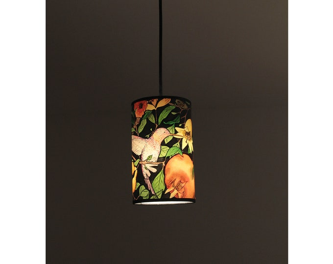 Hanging lamp, flowery lamp, pedant Lamp, bird lamp , ceiling lamp, lamp Pomegranate Tree collection, flowery tree lamp, hummingbird lamp