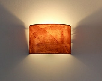 Plug-in sconce, Rust wall sconce, Industrial wal sconce, Oxide Wall sconce shelf, Painted sconce, Wall sconce pair, Plug in wall Sconce