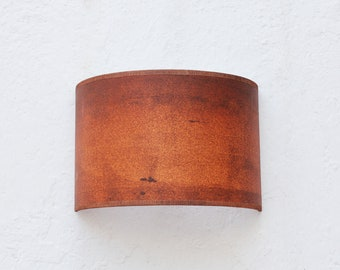 Plug-in sconce 3, Oxide wall sconce, Industrial wall sconce, Wall sconce shelf, Painted sconce, Wall sconce pair, Plug in wall Sconce light