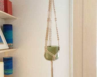 Eco friendly gift, Hanging planter, Pot holder macrame, Boho plant hanger, Modern boho wedding, Macrame planthanger, Macrame pot holder