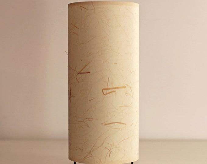 Japanese table lampshade, Japanese bamboo fiber lamp, Lamp tube, table lamp bamboo, table lamp japan modern, mid century lamp, table lamp