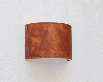 Wall lampshade oxide, Wall sconce light, Plug in wall sconce, Wall sconce plug in,  wall sconce oxide, lamp shade wall, plug in lampshade