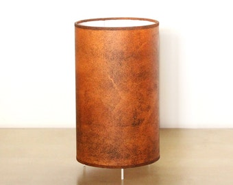Table Lamp oxide, Industrial lamp, Industrial lighting, Table lamp Oxid, Bedside lamp, Design lamp, Brown lampshade, Bedroom lamp, Copper