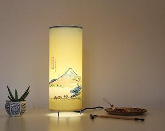 Japanese lamp, Japanese lamp shade, Japanese table lamp, japan lamp, japan table lamp, bedside lamp, table lamp, japan light, Cool lamp