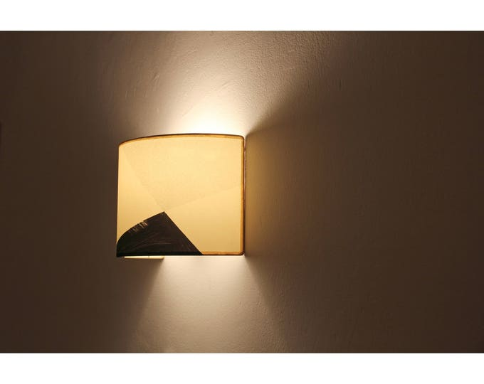 Sconce light, Plug in wall sconce, Wall sconce MAUD,  wall sconce lampshade, sconce, handmade wall sconce, wall lampshade, minimal wall lamp