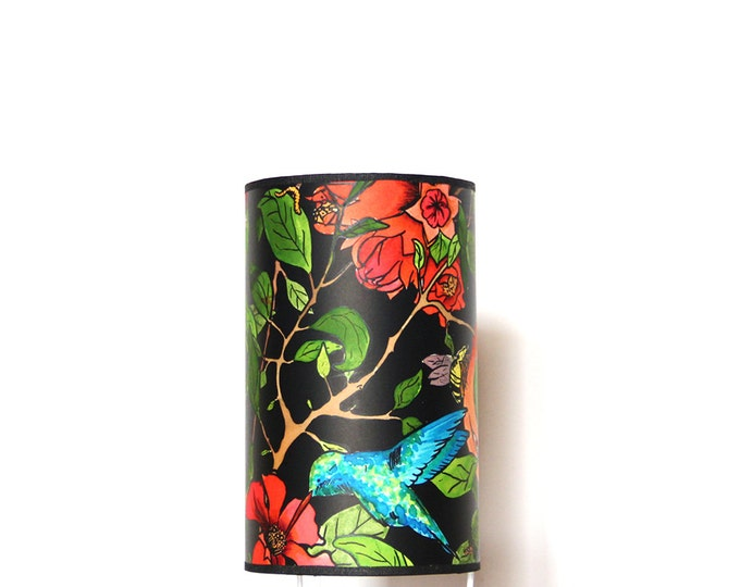 Table lamps, room lamp, design lamp, Hummingbird Lamp, lamp Pomegranate Tree collection, lampshade, lamp, hummingbird lamp, lamp design