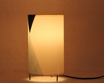 Table lampshade, Mid century lamp, table lamp black, table lamp minimal, table lamp MAUD, table lamp modern, table lamp, table lamp lines