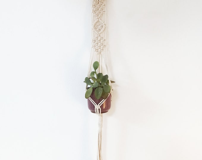 Macrame Wall hanging, Plant hanger baby succulent, Macramé wall planter, Macrame wedding, Macrame holder, Macrame baby holder,Cactus planter