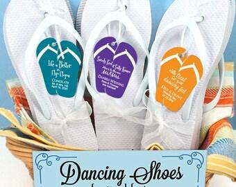 7d208d5804919 Bridesmaid flip flops set