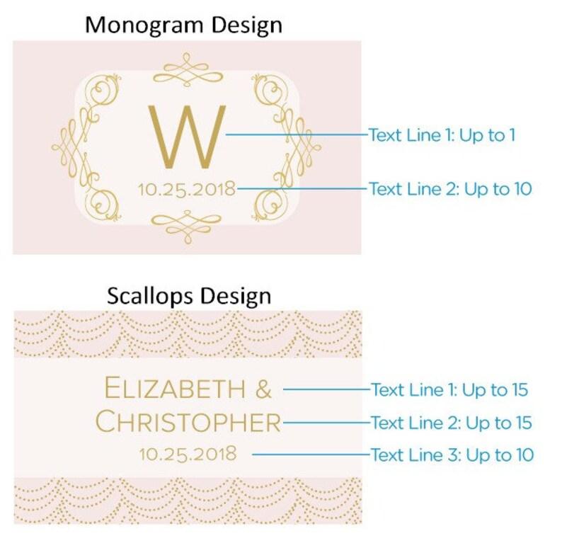 Monogrammed Matchboxes Set of 50 Custom Matchbox Personalized Wedding Matches Wedding Favors 28257-MOD