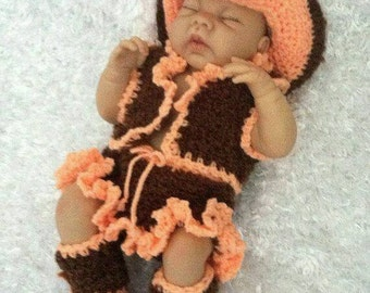 Baby cowgirl outfit   Etsy