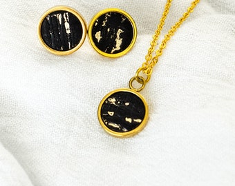 """Noble chain """"Cork"""" - stainless steel - gold"""