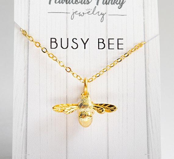 Busy Bee   Bienen Kette by Etsy