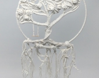 Macrame Tree of Life Wall Art/Window Art/Dream Catcher. 3 sizes /Designs. Free p& p in the UK.  Made in the UK