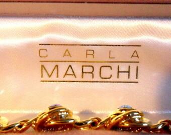 Rare Vintage Carla Marchi Bracelet