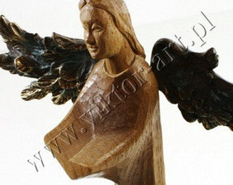 Angel - Reading a Book - Metal-Wood-Stone