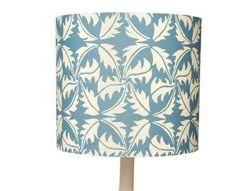 Lampshade ~ Dandelion Leaf Print Lampshade ~ Dandelion ~ Leaf Print ~ Dandelion Design ~ Lighting ~ Lamp
