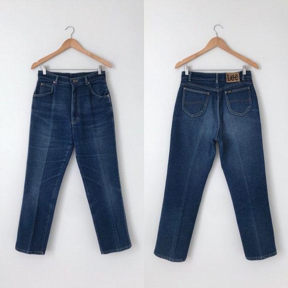 Vintage Lee Jeans / Vintage Faded Dark Denim Lee J