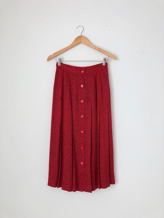 Vintage Julie Francis Silk Dress / Vintage 80s Pr… - image 7