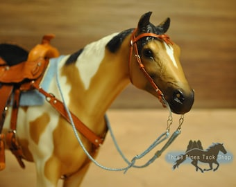 Braided Reins for Traditional Model Horses