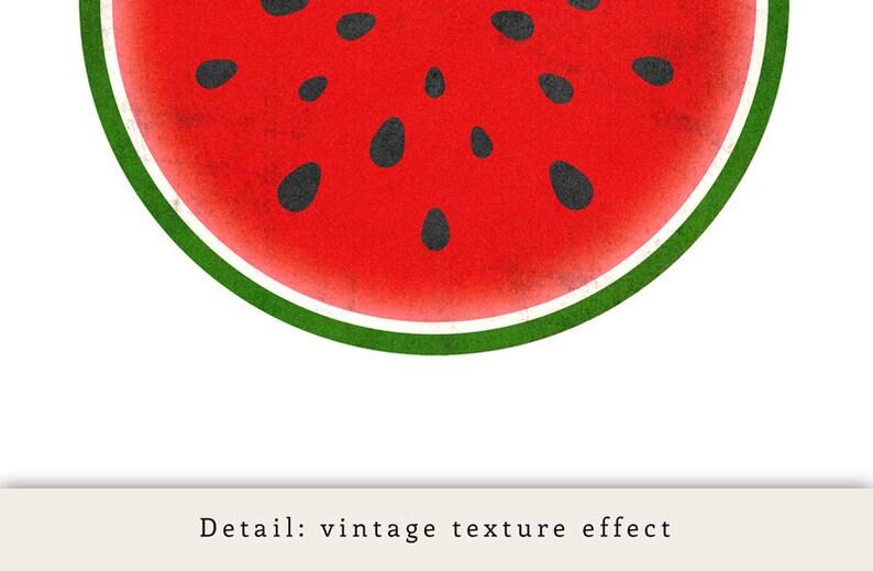 Set of 3 kitchen prints Fruits print kitchen print kitchen poster fruit print fruit art kitchen art food poster fruit art watermelon print